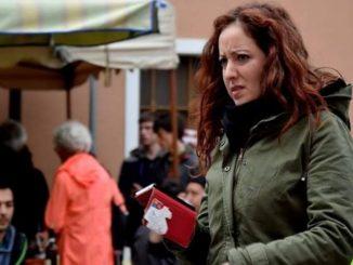 La portvace del Movimento No Tav, Dana Lauriola