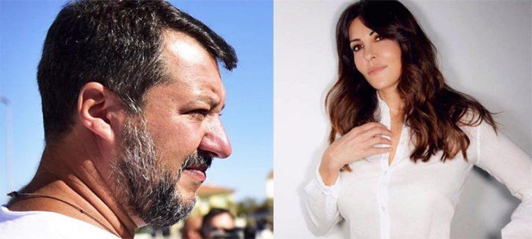 Sabrina Ferilli vs Matteo Salvini
