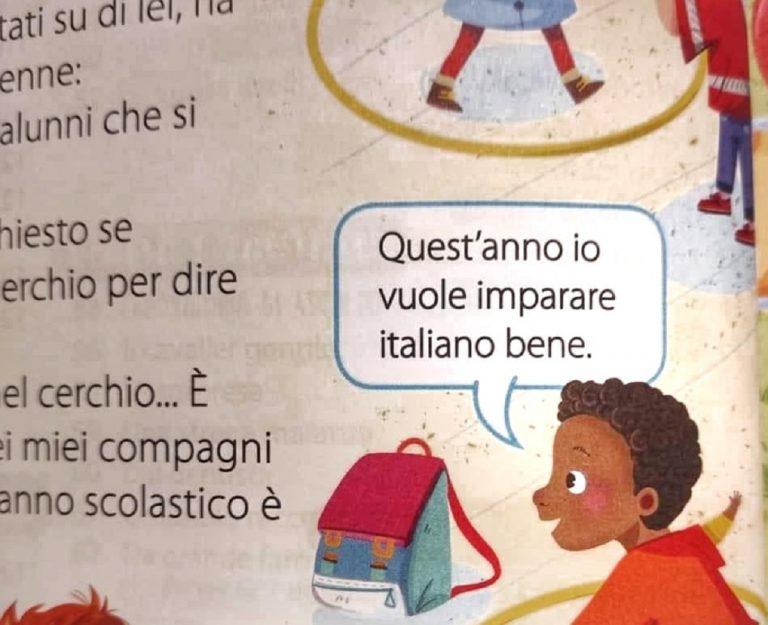 frase razzista manuale seconda elementare