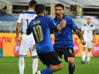 Nations League, Italia – Bosnia 1-1: Sensi risponde a Dzeko