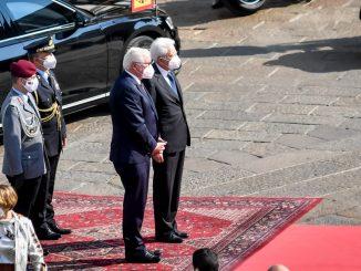Incontro Mattarella presidente tedesco Steinmeier