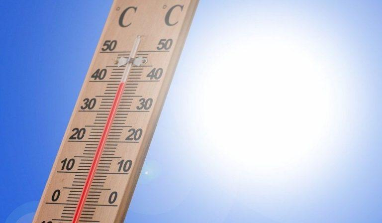 Meteo temperature estive