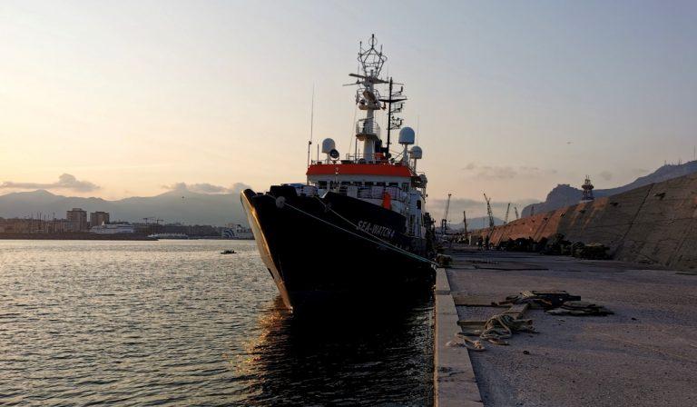 La nave Sea Watch è sotto fermo amministrativo delle autorità italiane