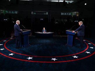 trump biden comunicazione primo dibattito