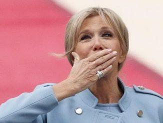 la premiere dame Macron isolamento positiva