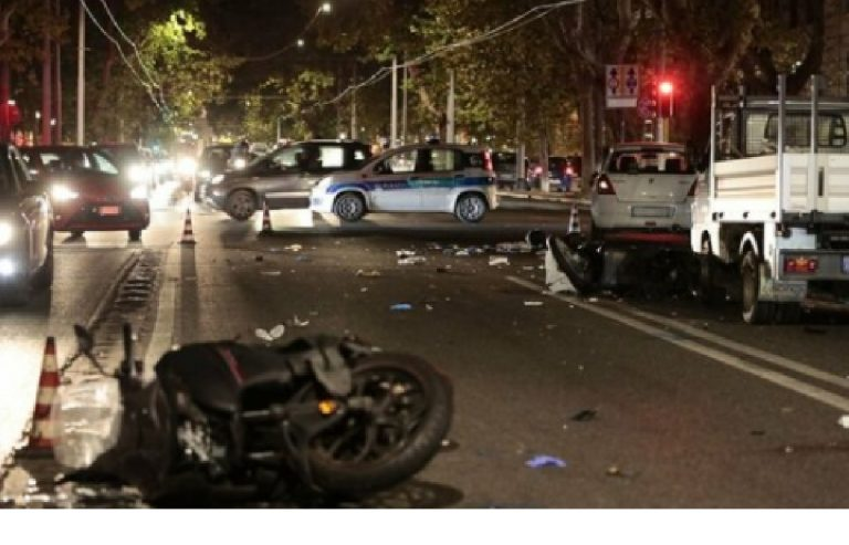 Incidente Roma scooter