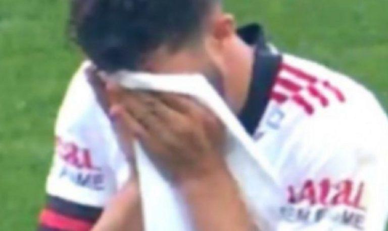 Gustavo Henrique, infortunio ai testicoli per il giocatore brasiliano durante una gara