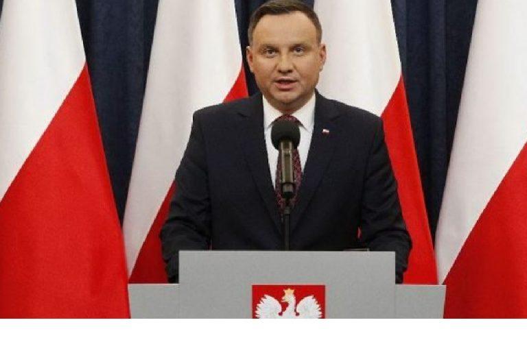 Presidente polacco positivo al coronavirus