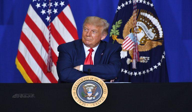 Test e comizio per Trump?