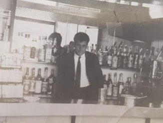 Americo Tucci in una foto d'epoca