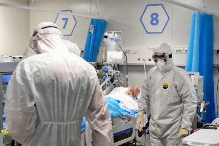 coronavirus numeri terapie intensive