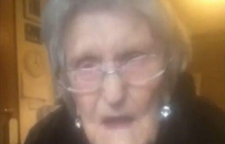 covid anziana 104 anni voglio vedere famiglia