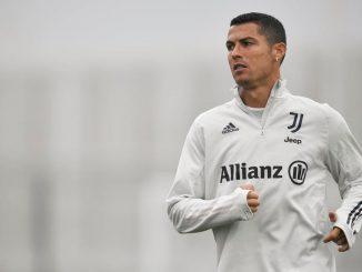 Cristiano Ronaldo in quarantena a torino