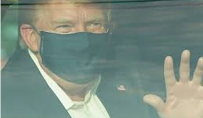 Donald Trump lascia l'ospedale