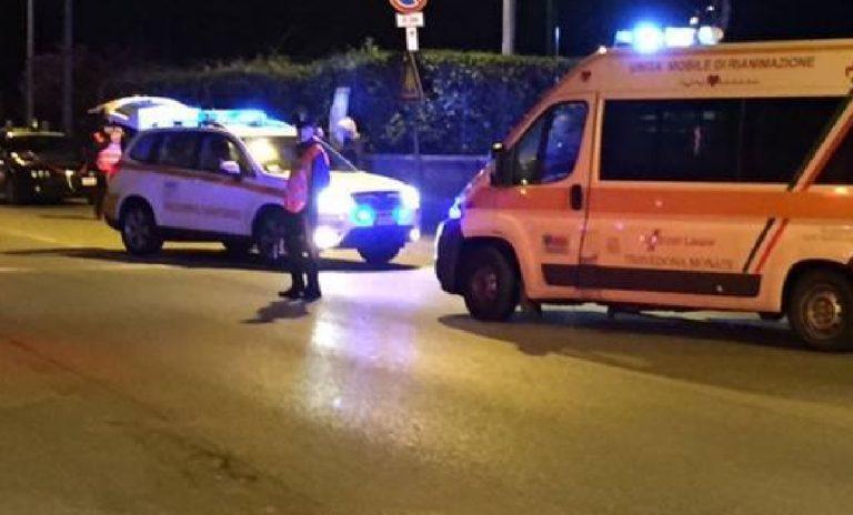 Incidente Ferno motociclista