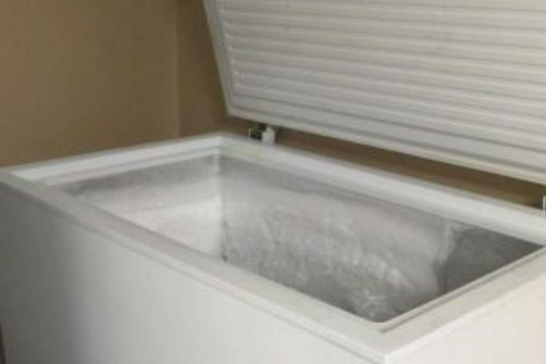 partorisce nascosto bimbo congelatore