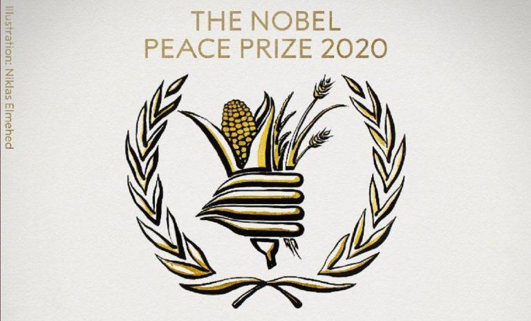 premio nobel per la pace 2020