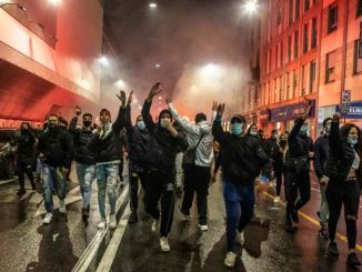 proteste anti lockdown estrema destra