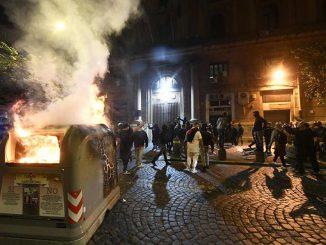 Coprifuoco regionale, nuove proteste indette per questa sera a Napoli