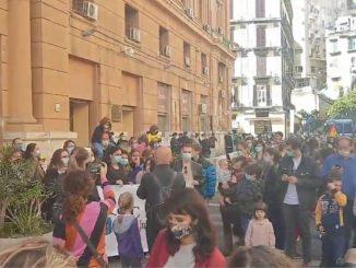 scuole chiuse campania protesta mamme