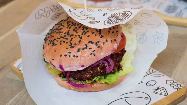 hamburger vegano burger