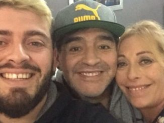 Maradona madre Diego Junior