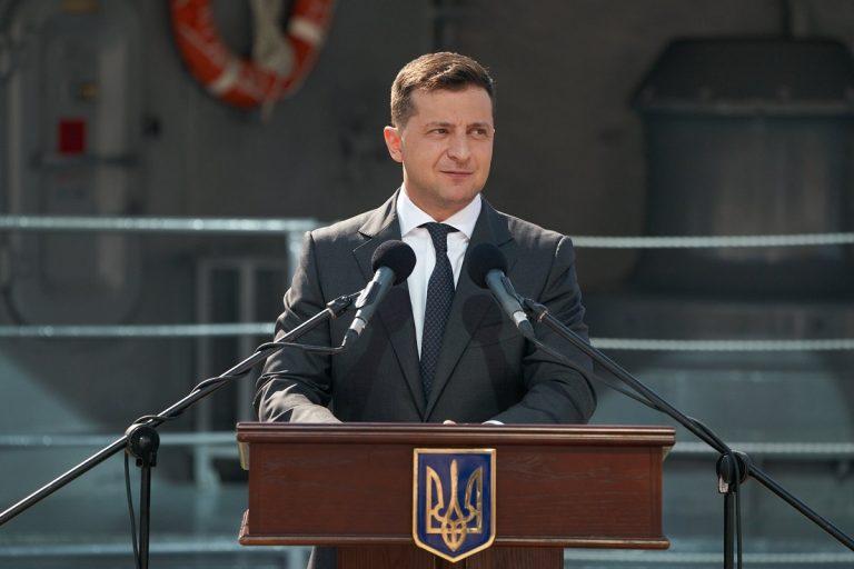 positivo al covid il presidente ucraino