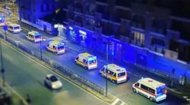 Ambulanze fila torino