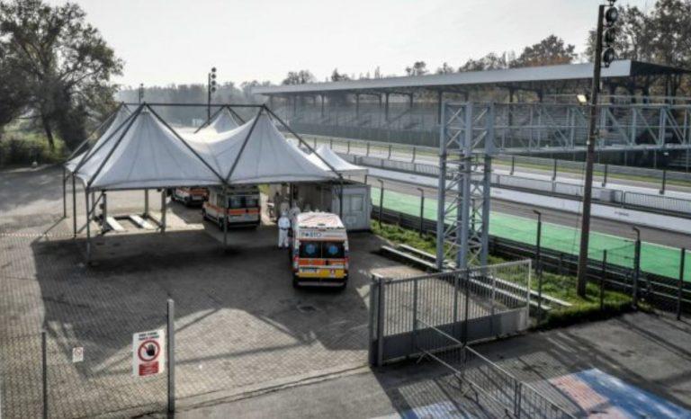 autodromo di monza diventa check point sanitario