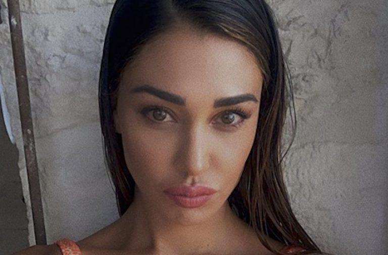 Belen Rodriguez imbianchina