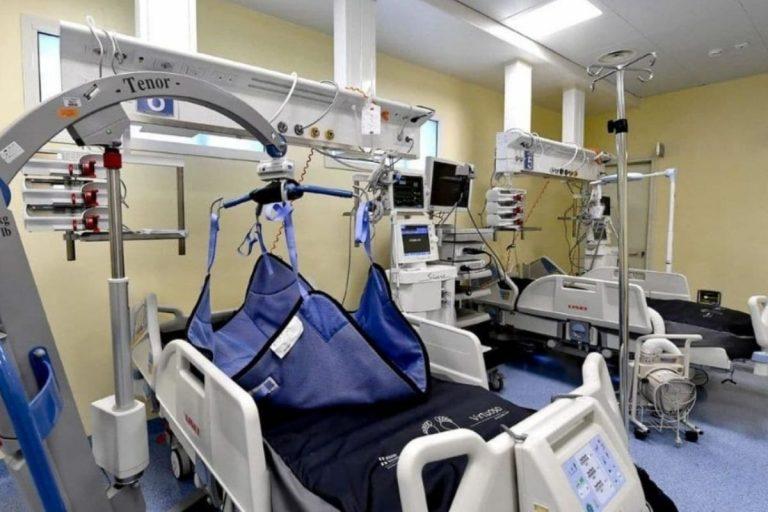 Calabria dati terapie intensive