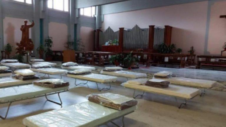 Chiesa ospedale torino reparto covid