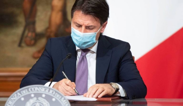 Conte dialogo Forza Italia