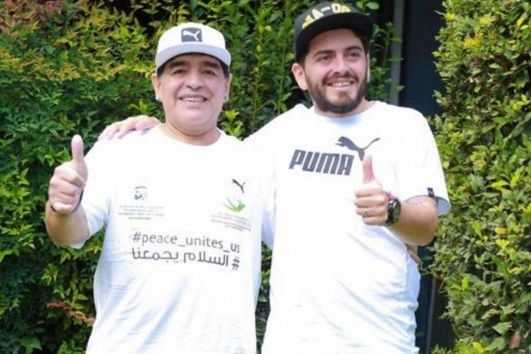 coronavirus ricoverato Maradona Junior