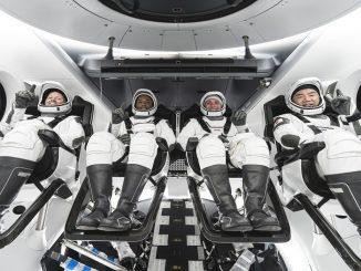 Crew Dragon alla stazione spaziale, missione compiuta