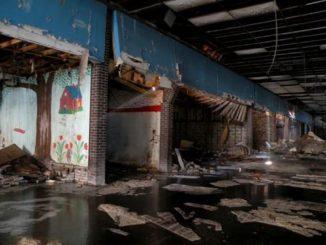 Il centro commerciale abbandonato del film dei Blues Brothers
