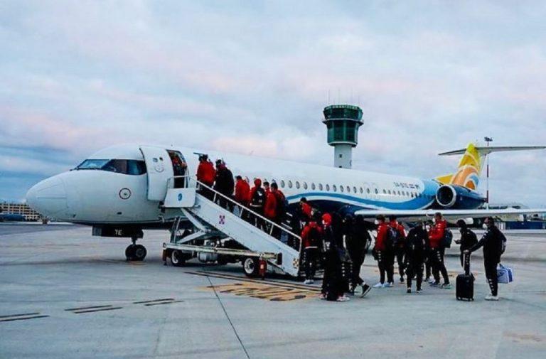 fast private jet benevento calcio