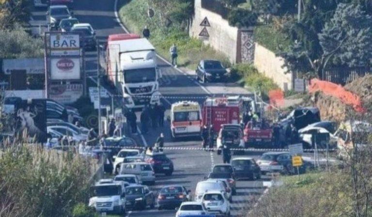 Ferentino incidente via Casilina