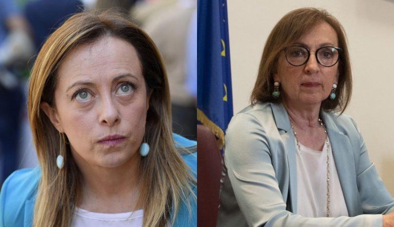 Giorgia Meloni e Sandra Zampa