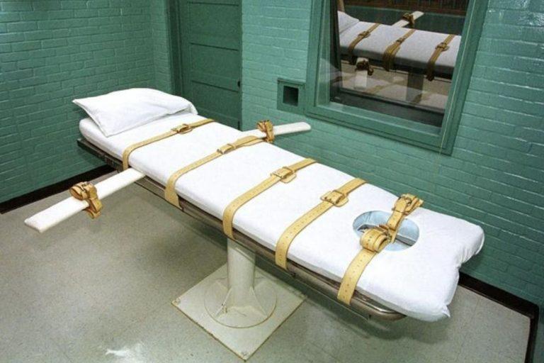 giustiziato detenuto indiana