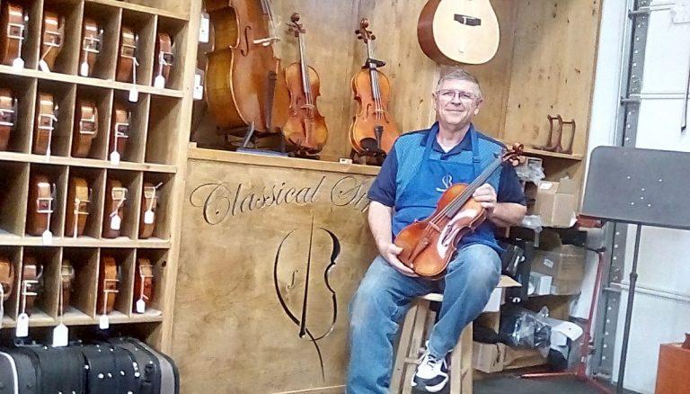 Grover il suonatore di violino