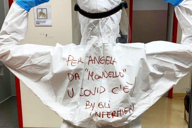 Infermiera risponde ad Angela da Mondello