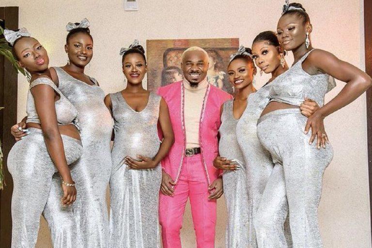 influencer nigeriano matrimonio donne incinte