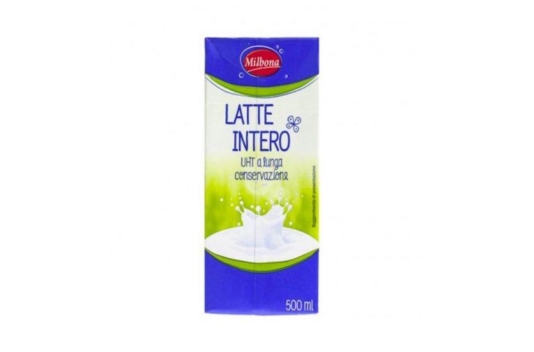 latte intero ritirato per perdita di sterilità