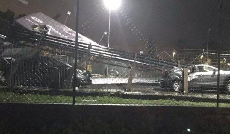 Maltempo tornado colpisce Catania
