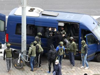 manifestanti Bielorussia