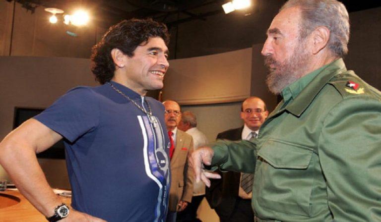Morte Maradona: come Fidel Castro e Best, nello stesso giorno