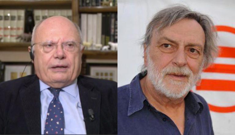 Massimo Galli e Gino Strada