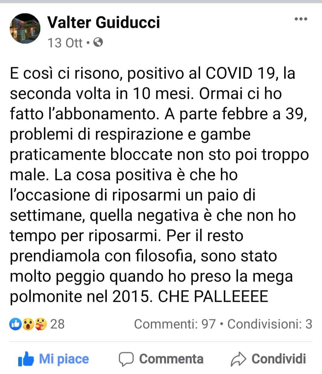 post Valter Guiducci