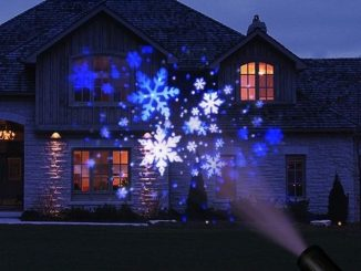 proiettore luci di Natale
